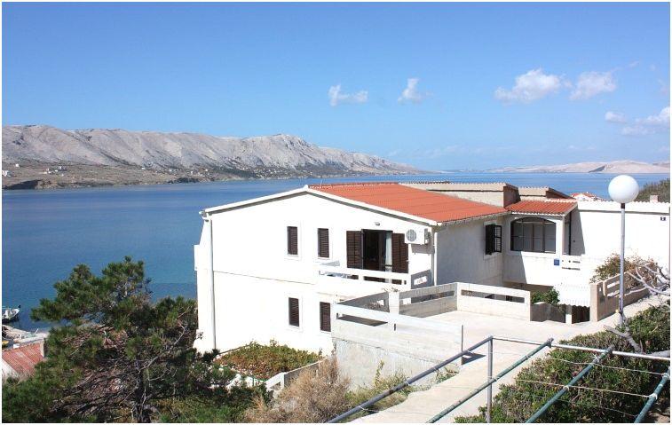 Pag case vacanze isola di pag croazia appartamento per 3 for Disegni di case vacanza